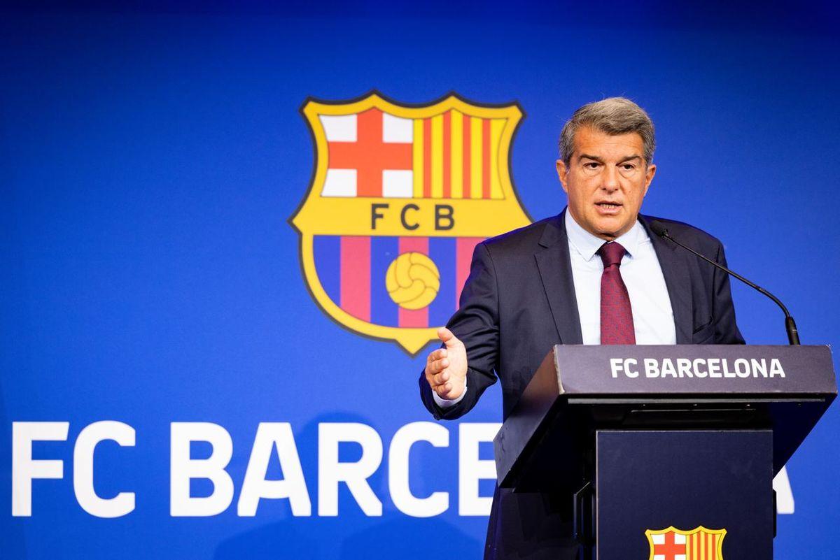 Joan Laporta explicó la salida de Lionel Messi del Barcelona.