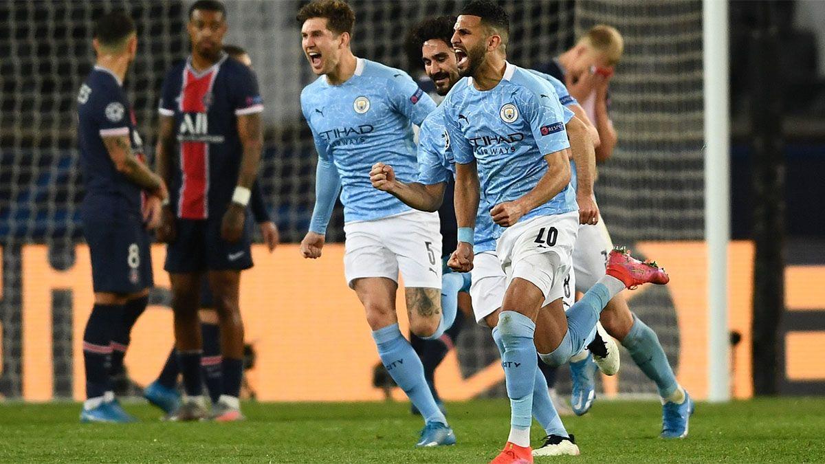 Manchester City lo dio vuelta y sacó ventaja en la ida ante el PSG