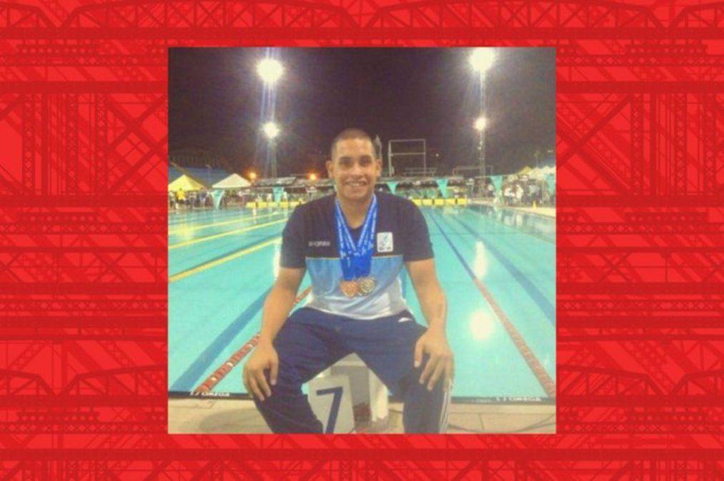 Covid: dolor por la muerte de un joven nadador paralímpico