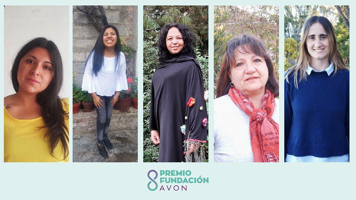 Fundación AVON y Fundación Macro anunciaron a las cinco mujeres ganadoras