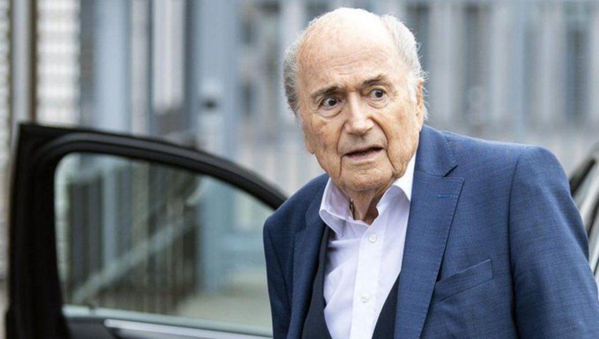 Hay preocupación por la salud de Joseph Blatter.