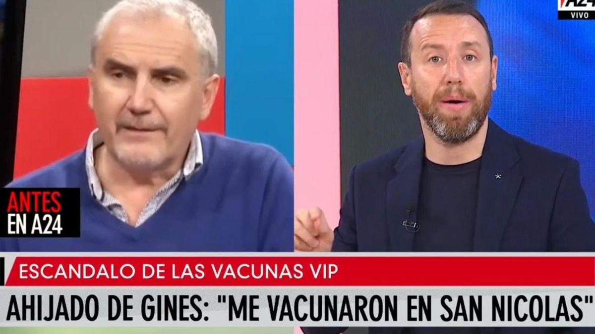 El ahijado de Ginés González García admitió que él y su esposa fueron vacunados.