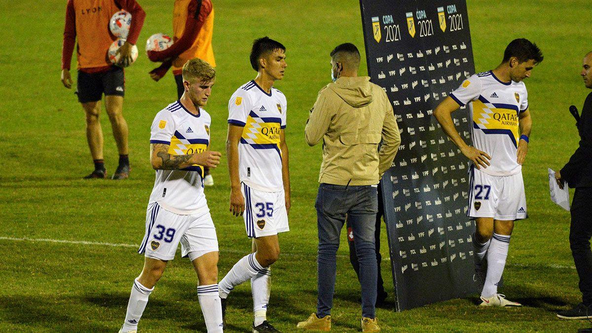 Franco Soldano explotó de bronca en Boca tras la derrota