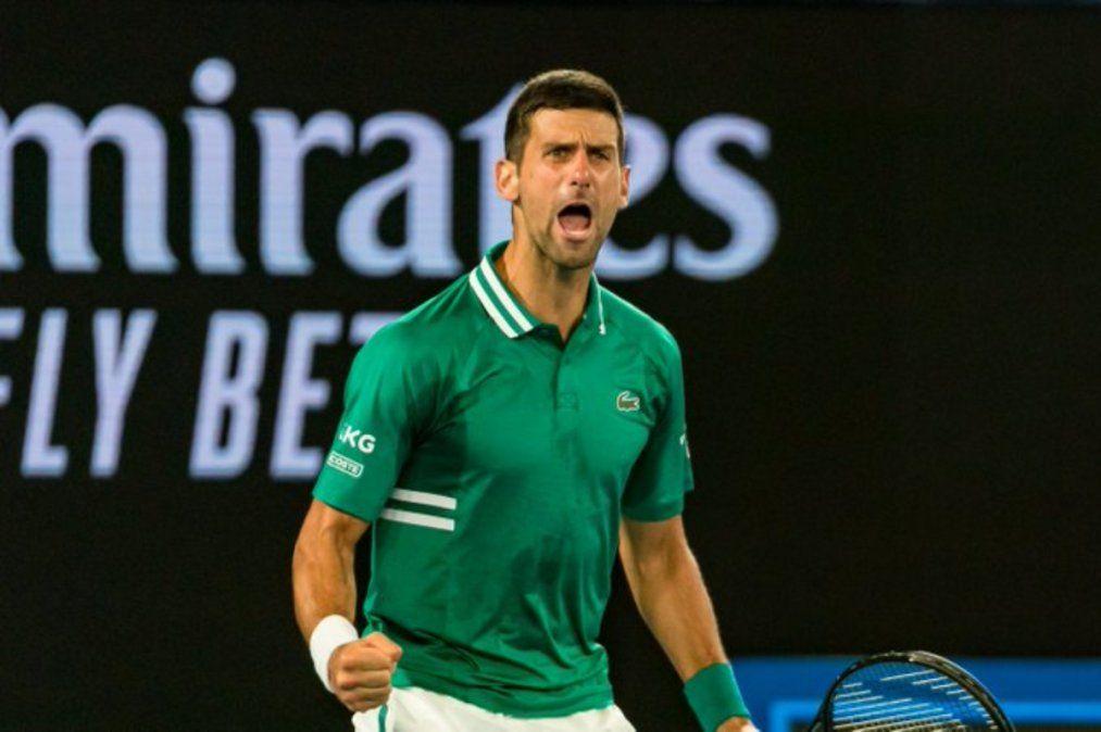 Novak Djokovic es semifinalista por novena vez en Australia