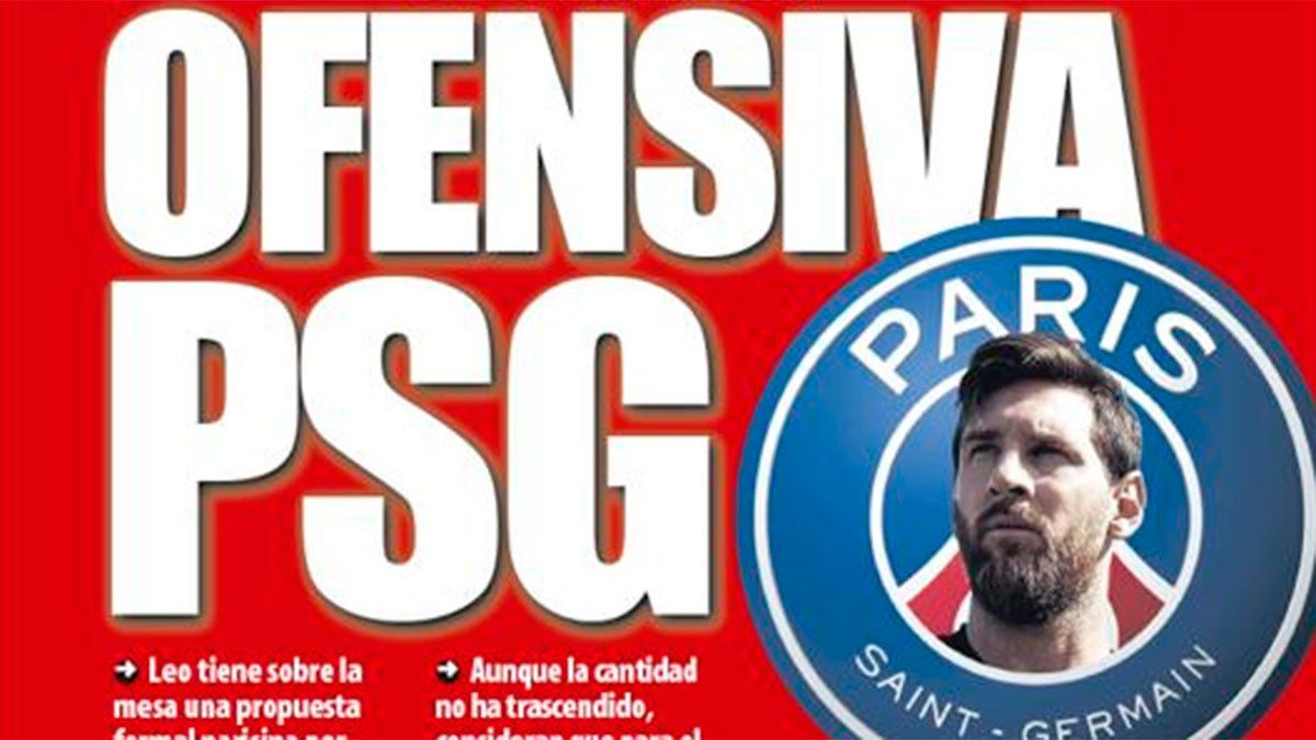 Messi y una tapa que sacude: Ofensiva PSG