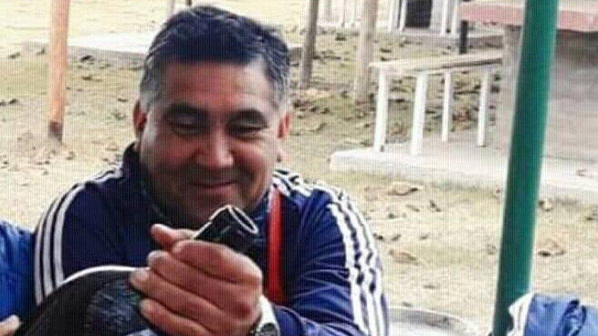 Jorge Quiroga, víctima del accidente en Las Heras que causó Claudio Adrián Villalba ebrio al volante.