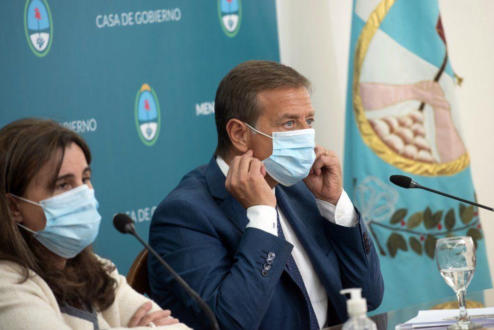 El gobernador Rodolfo Suarez dio inicio a la emisión de letras para pagar los aguinaldos