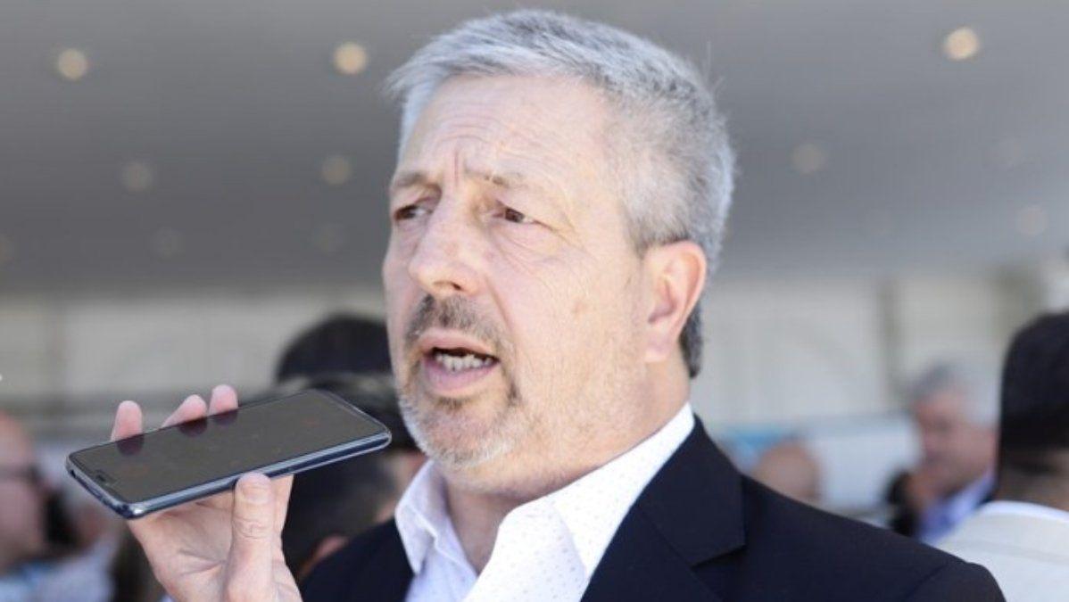 El intendente y el arco político sureño despidieron esta mañana al presidente del Concejo Deliberante de San Rafael Ricardo Vergara