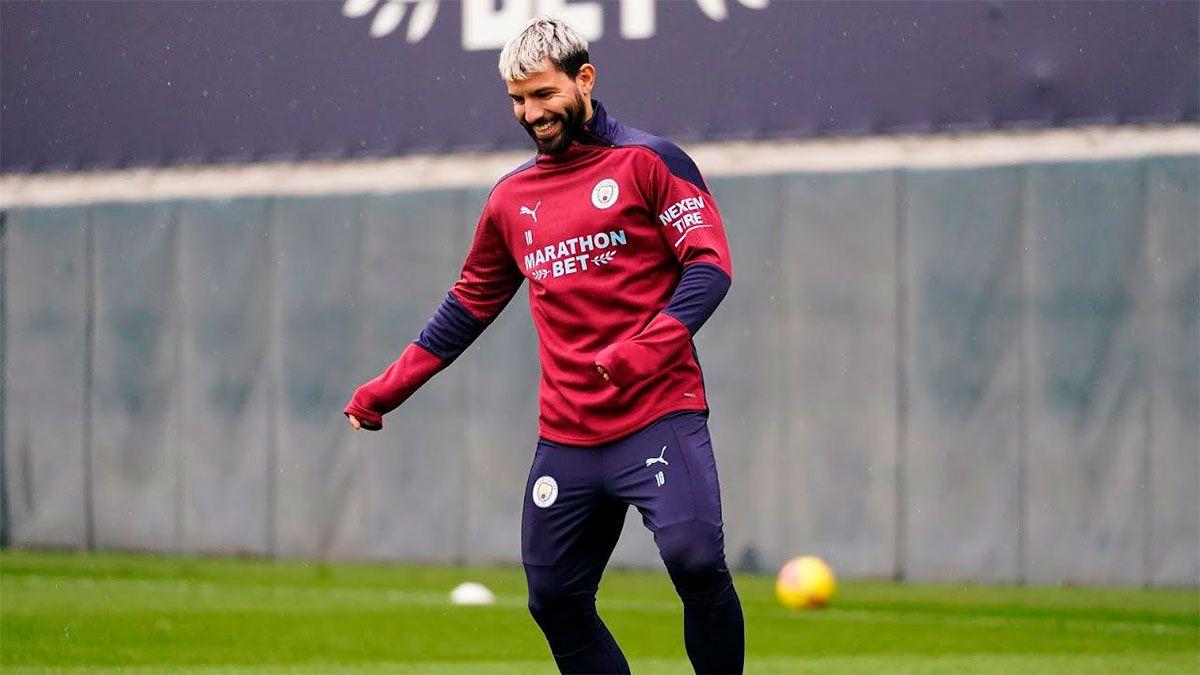 Sergio Kun Agüero estaría en el radar del Barcelona