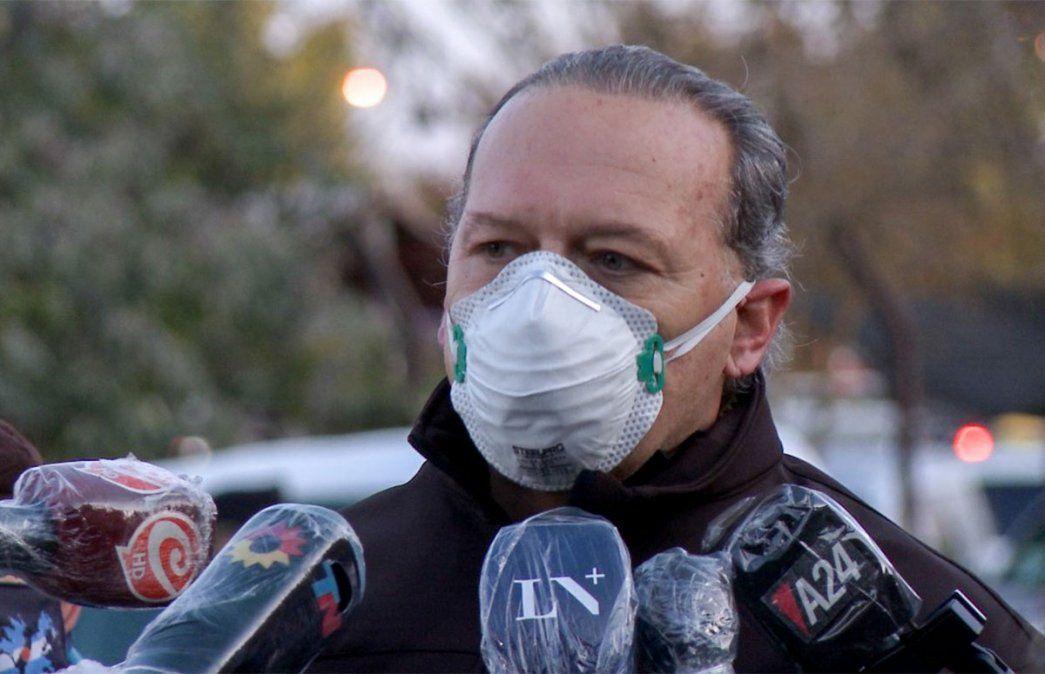 Sergio Berni cargó otra vez contra Sabina Frederic por cuestiones de Seguridad.