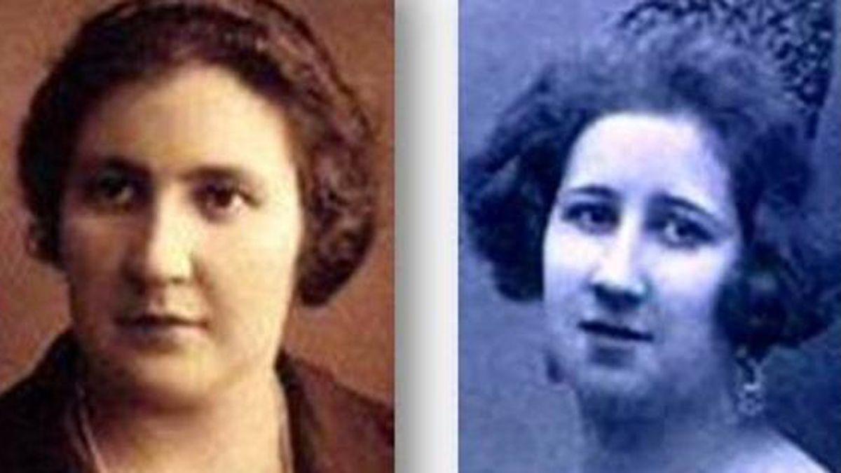 Consuelo y Dolores Aguiar-Mella Díaz