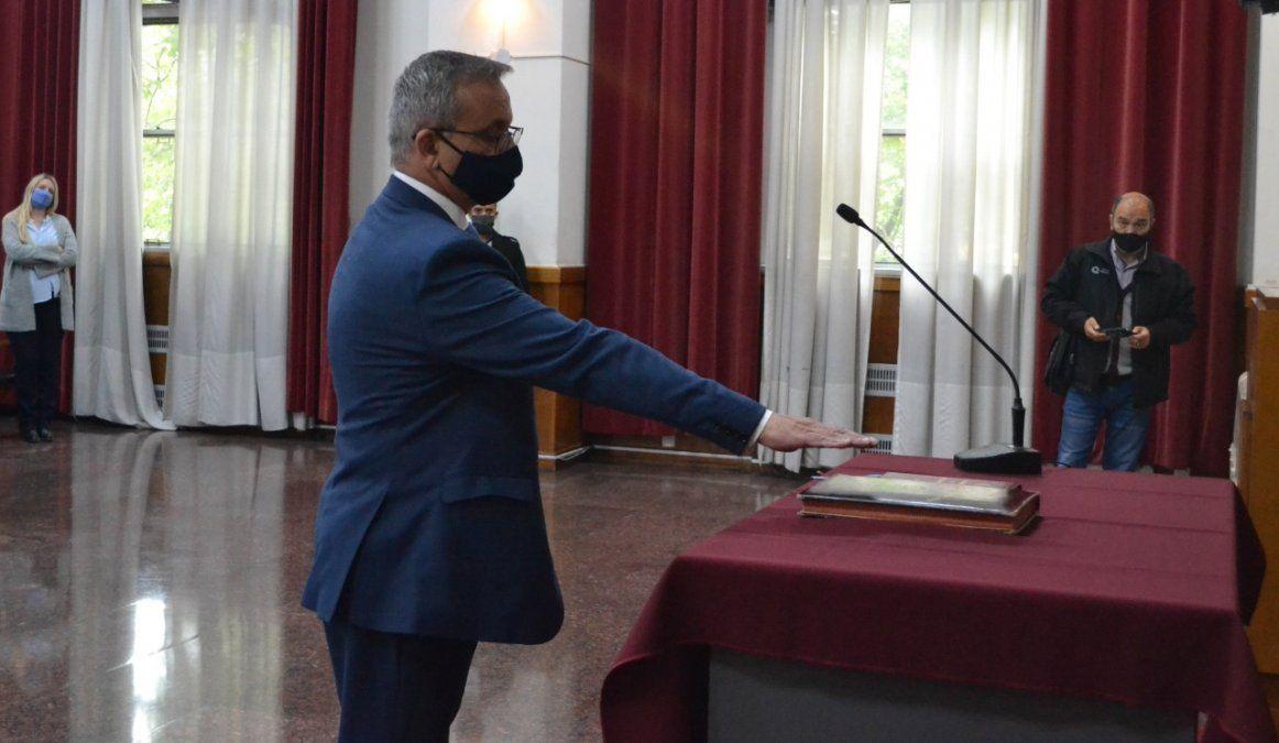 Horacio Cadile ya es juez de sentencia titular tras el juramento.