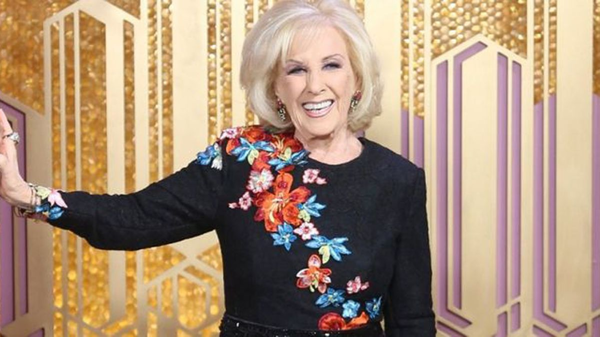 Mirtha Legrand.