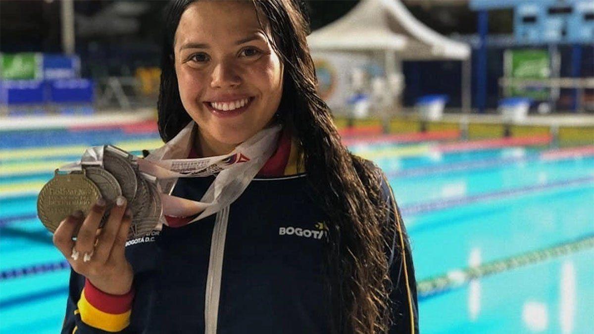 Sudamericano: Camila Aguirre encabeza la selección de nado sincronizado