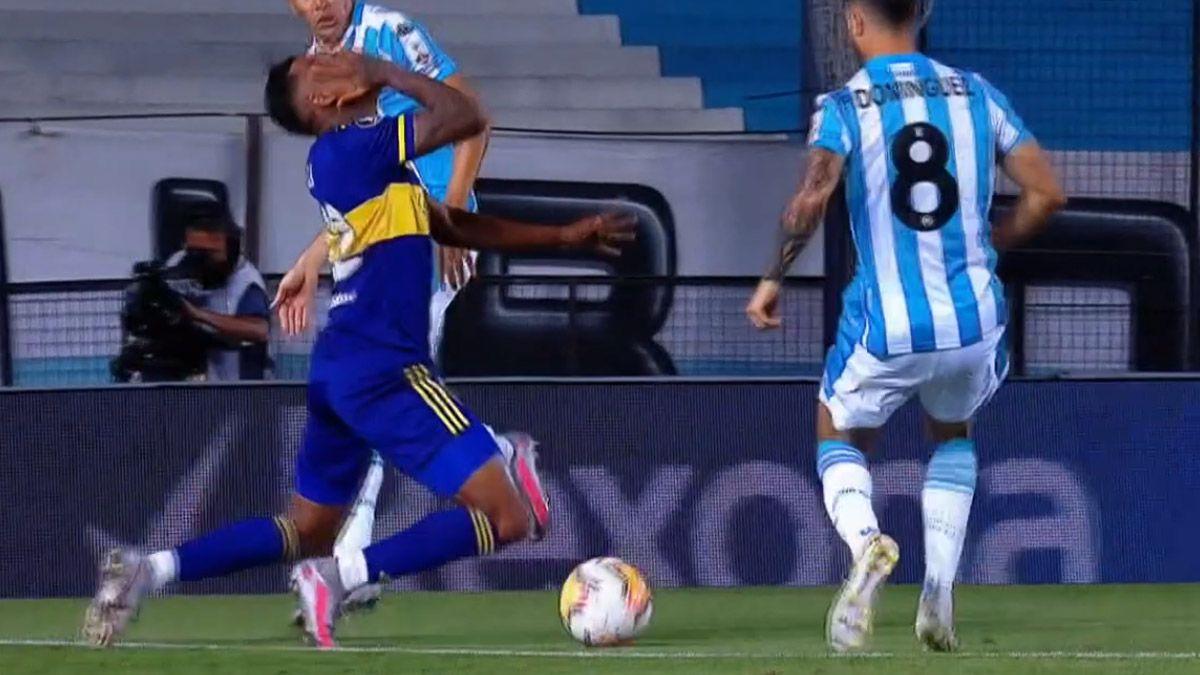 Racing pegó primero y venció 1-0 a Boca en Avellaneda