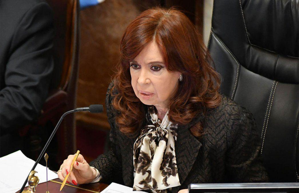 Cristina Kirchner disparó