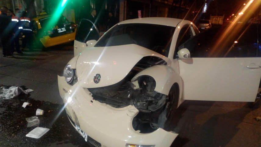 Se produjo un grave accidente con un conductor alcoholizado