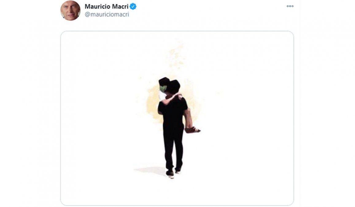 El tuit de Mauricio Macri por el caso de Abigail