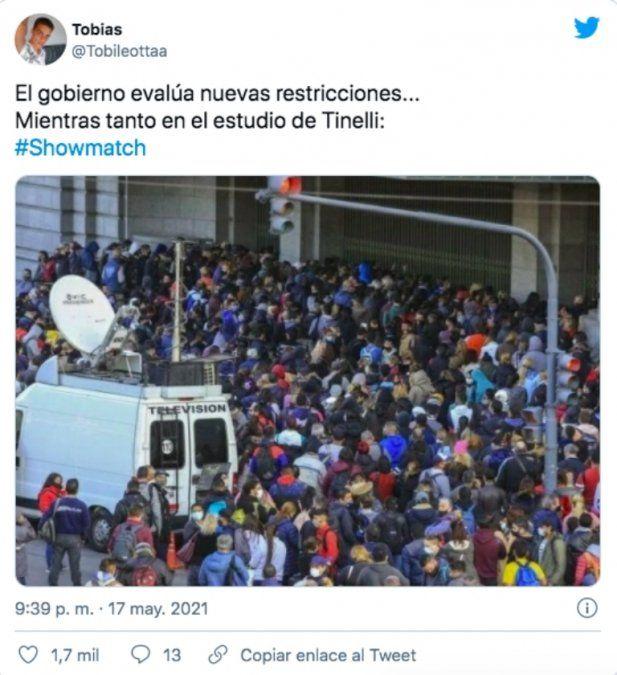 Tinelli regresó a la TV: polémica por los pocos protocolos
