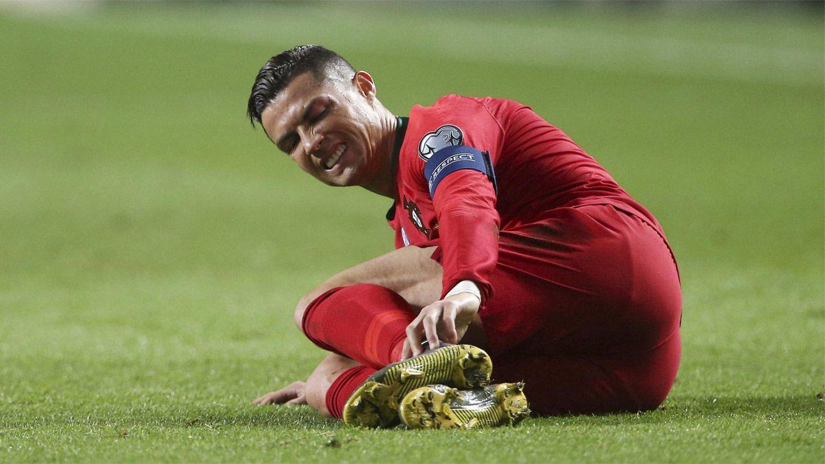 Cristiano Ronaldo sufre una complicada infección