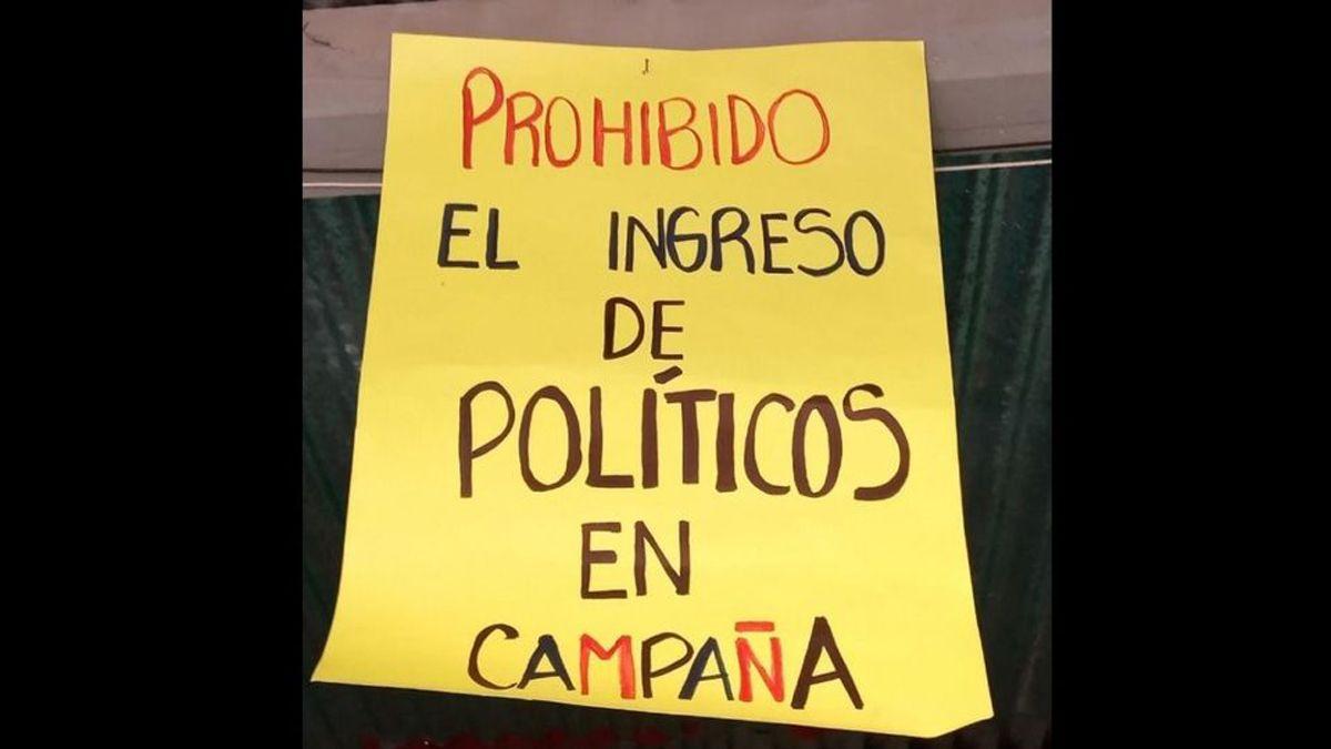 Un merendero prohibió el ingreso de políticos en campaña