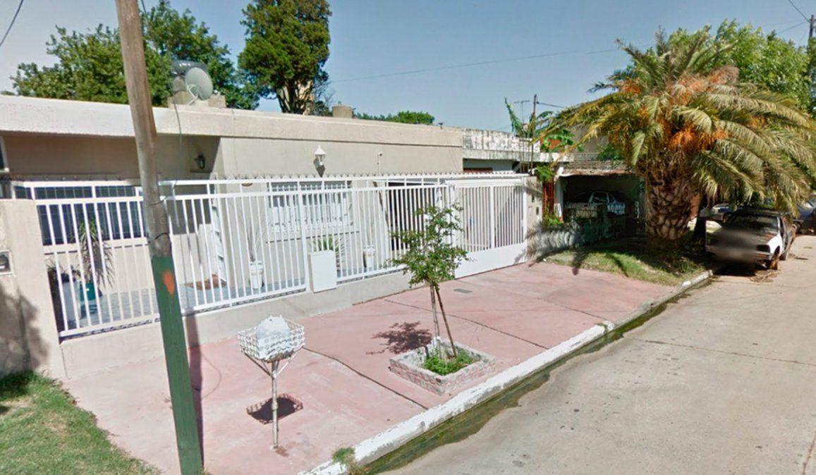 En este lugar estaba estacionado el auto en el que Viviana Giménez fue asesinada por su pareja