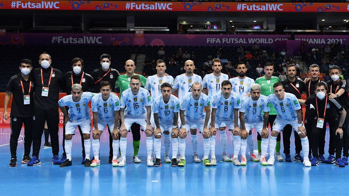 Mundial de futsal: día, hora y TV de Argentina-Serbia