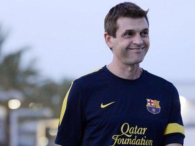 Barcelona y una emotiva bienvenida a Tito Vilanova