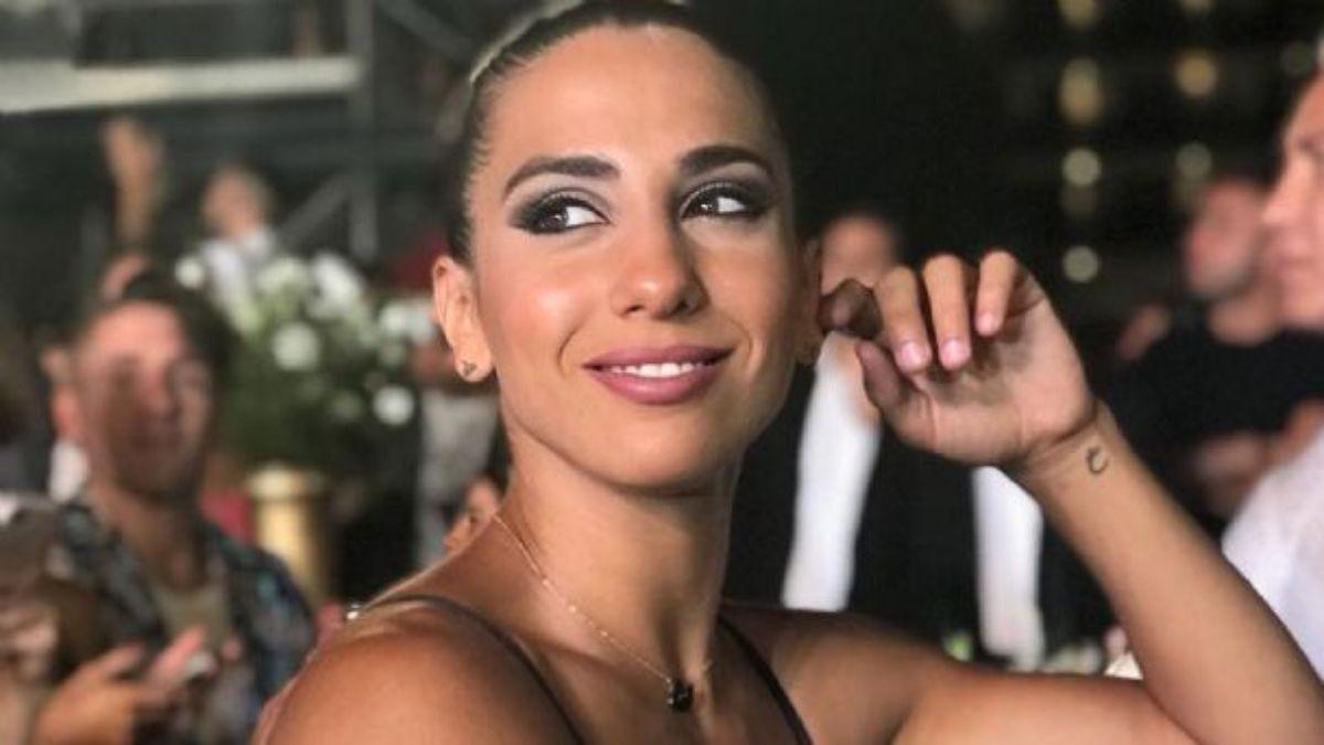 Cinthia Fernández metió foto despúes de entrenar y arrasó.