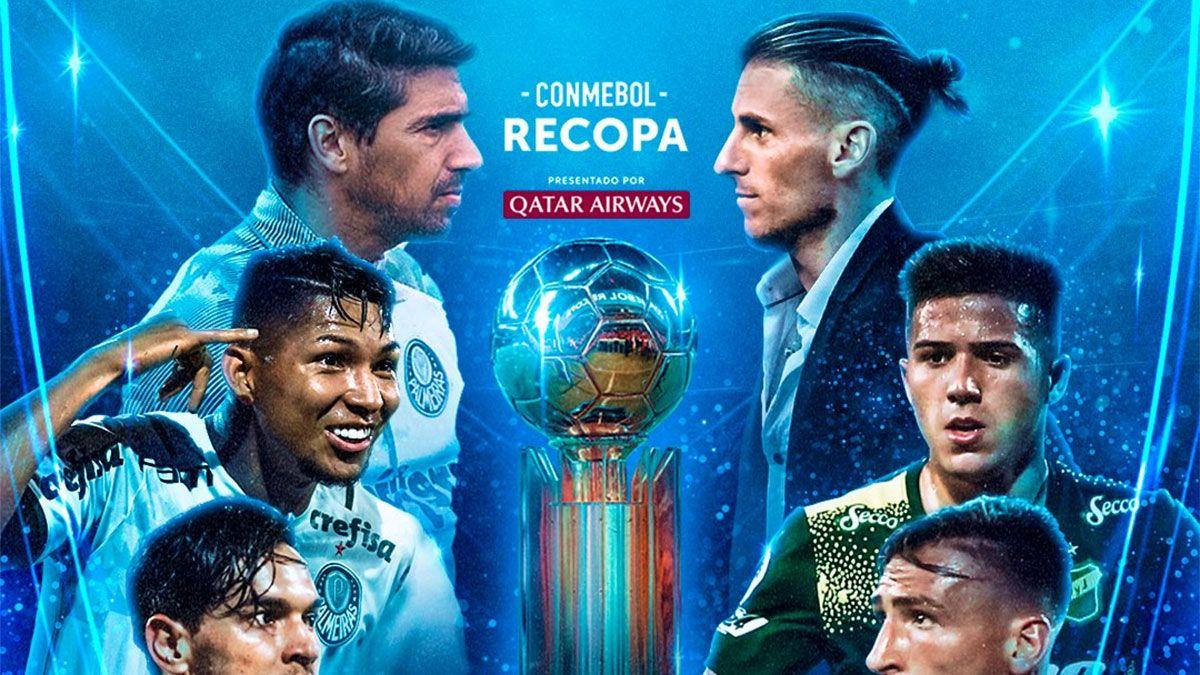 Recopa Sudamericana: Defensa visitará al Palmeiras