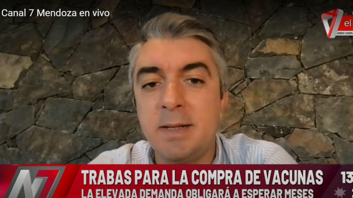 El intendente de Luján de Cuyo