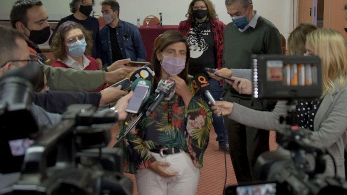 Mariana Juri: Hemos puesto a todo el equipo del gobierno a resolver el problema con los artistas