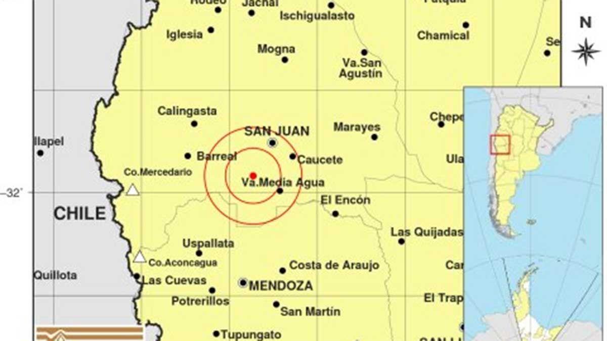 San Juan no paró de moverse: tuvo más de 25 réplicas del terremoto