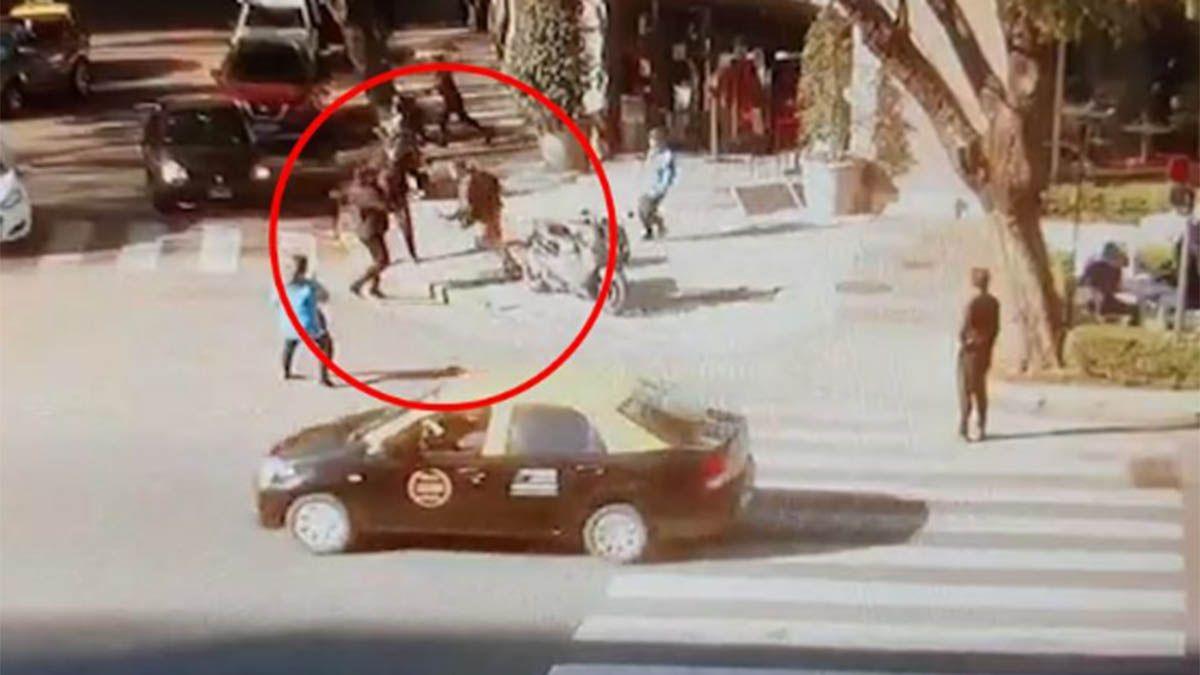 Video: así fue el asesinato de un policía en Buenos Aires