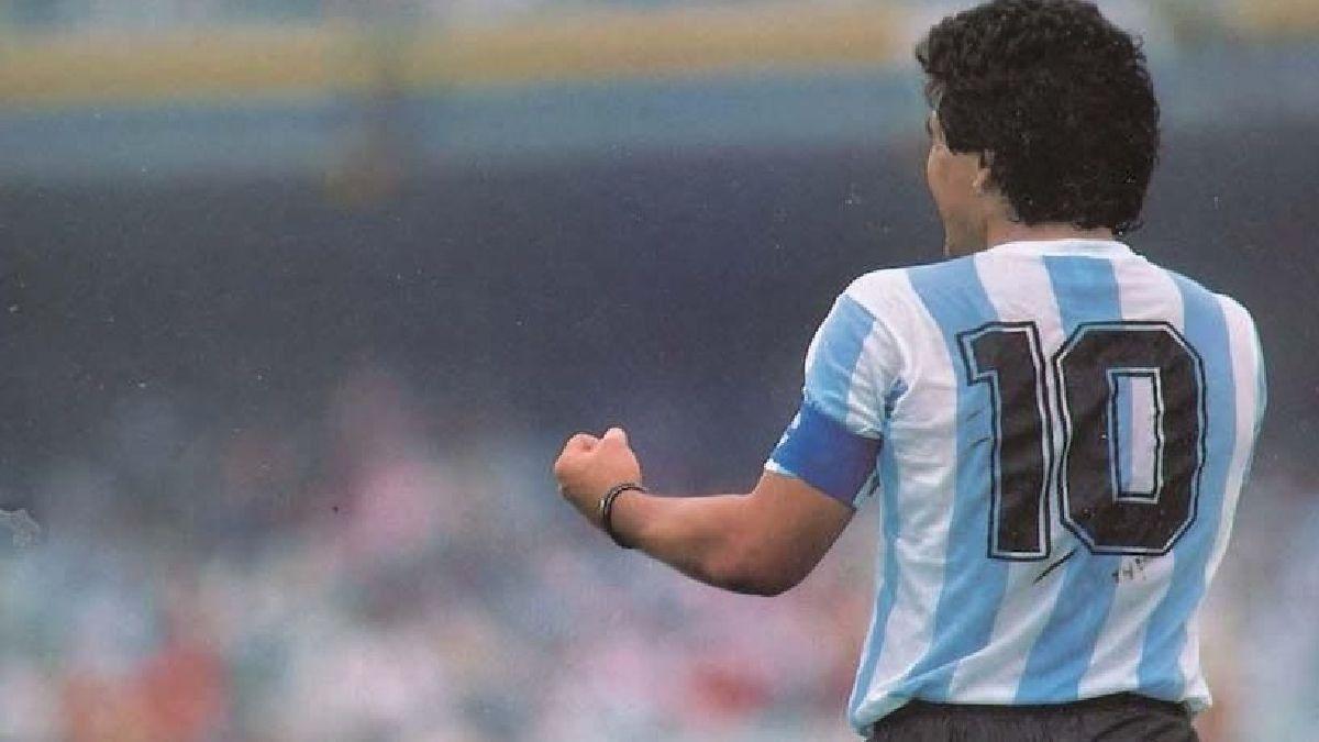 Maradona y el 10