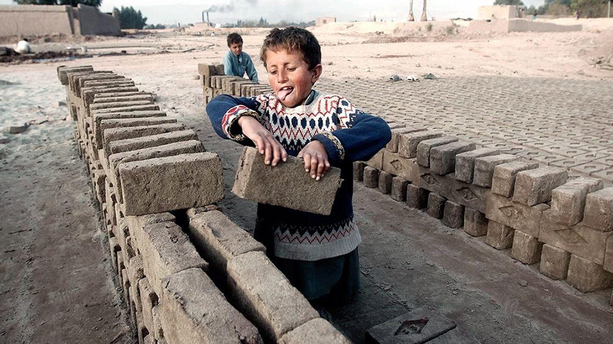 Trabajo infantil. la mitad de los menores que trabajan tienen solo entre 5 y 11 años.