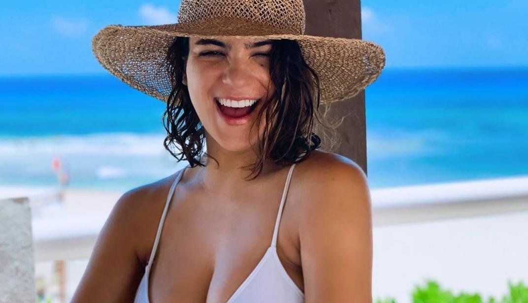 Agustina Cherri se mostró en bikini y arrasó.
