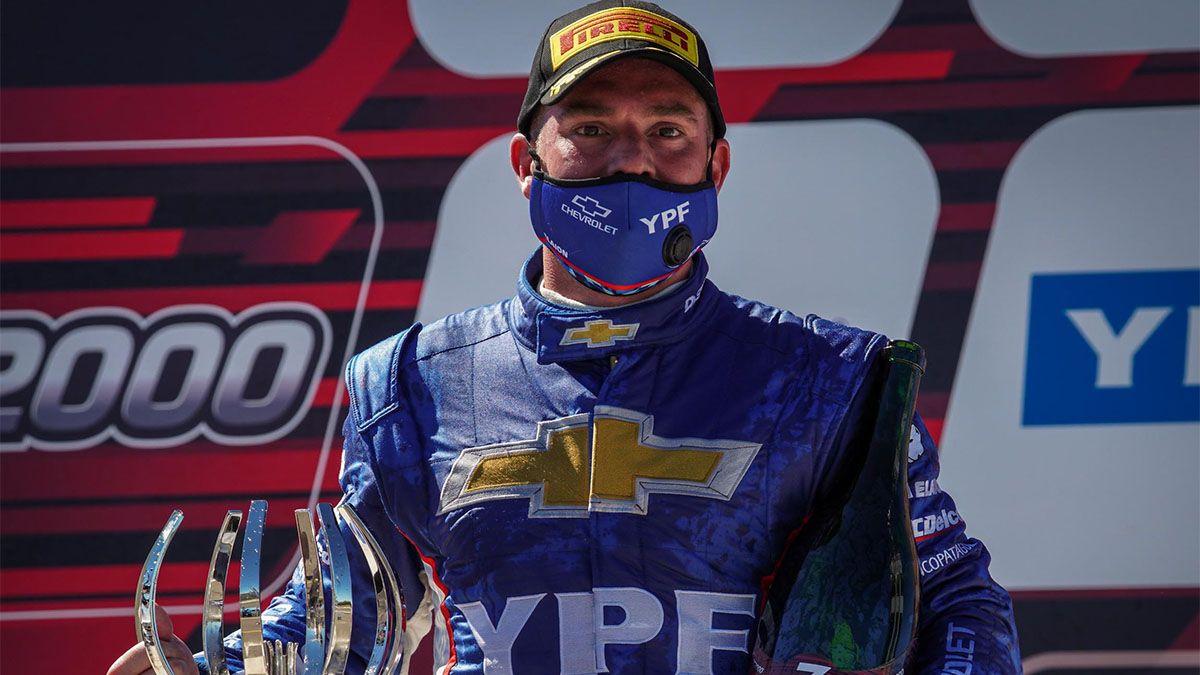 Berni Llaver fue tercero en el Súper TC2000