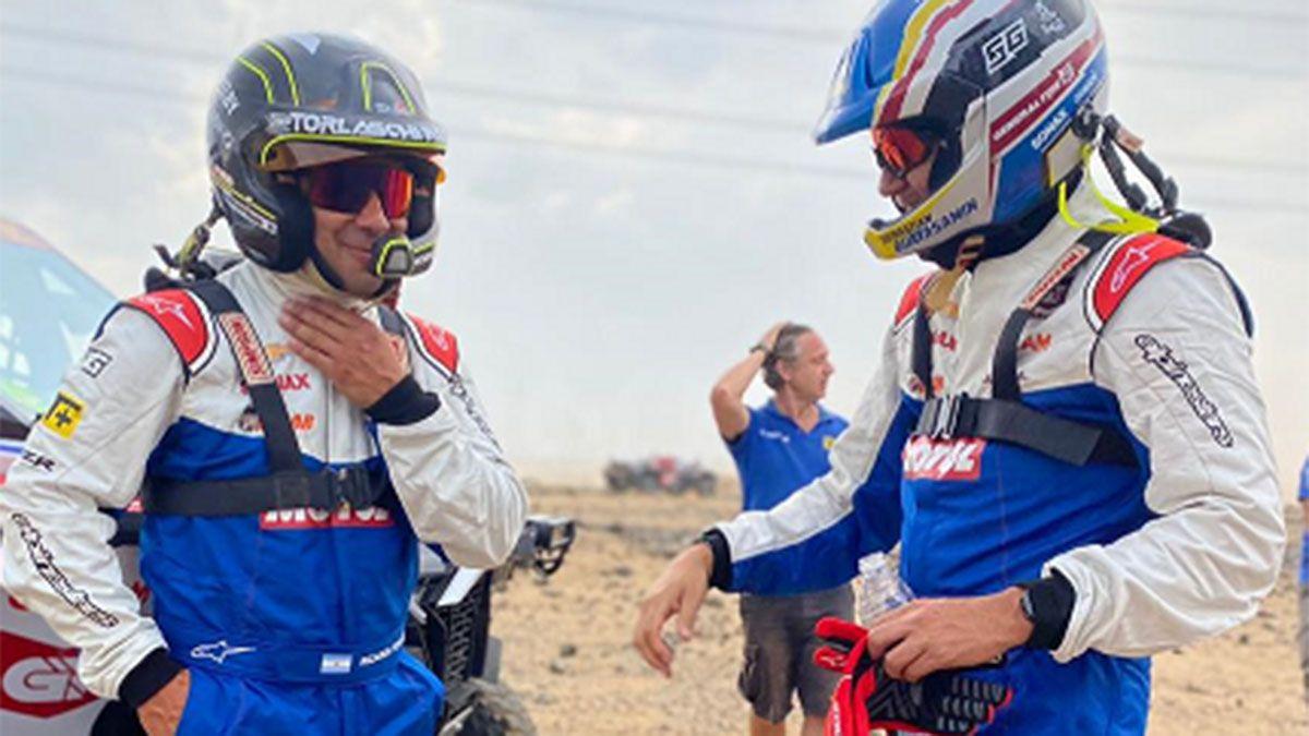 Ricardo Torlaschi tiene todo listo para debutar en el Dakar