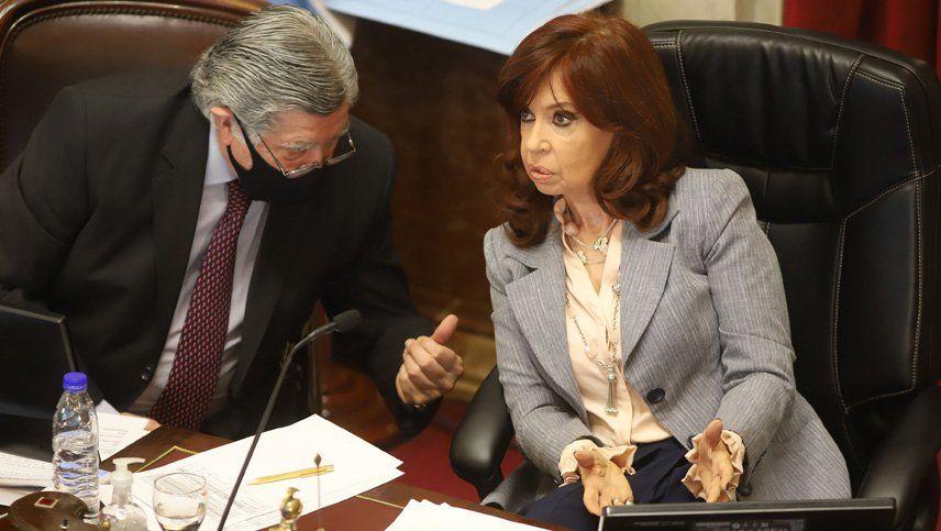 Cristina Kirchner ironizó sobre Esteban Bullrich