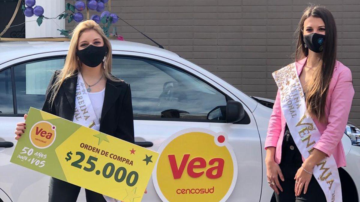 La Reina de la Vendimia recibió el auto 0km