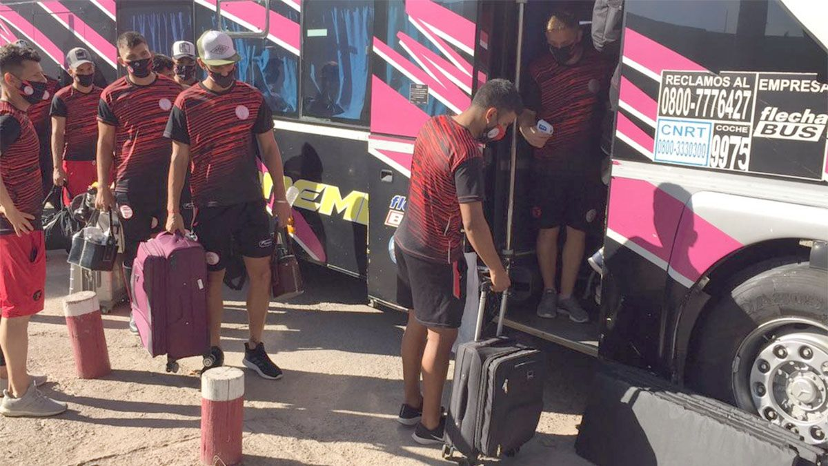 Huracán viajó para jugar por Copa Argentina