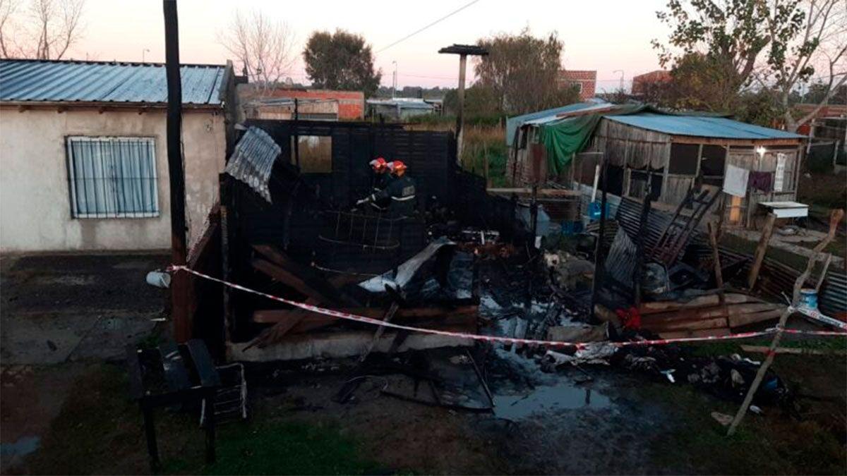 Incendio fatal: murieron 5 menores y 2 adultos