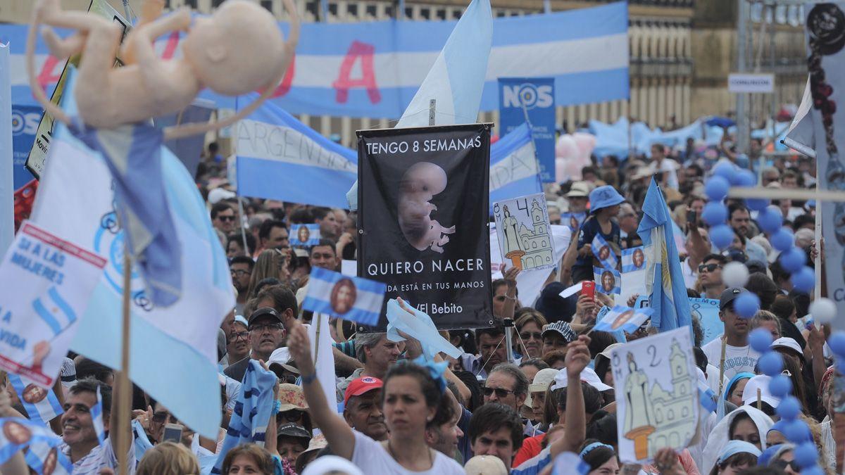 Sectores contrarios a la legalización del aborto realizaran una marcha el próximo sábado.