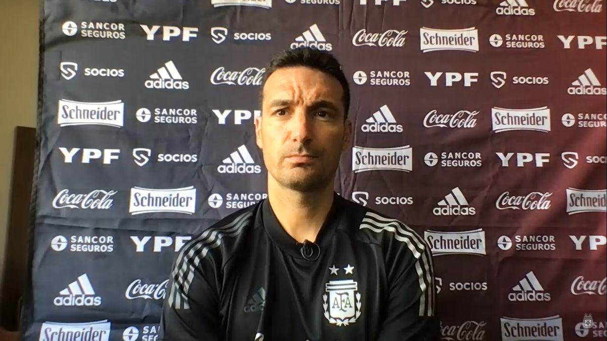 Lionel Scaloni, DT de la Selección Argentina, habló antes de enfrentar a Brasil por las Eliminatorias.