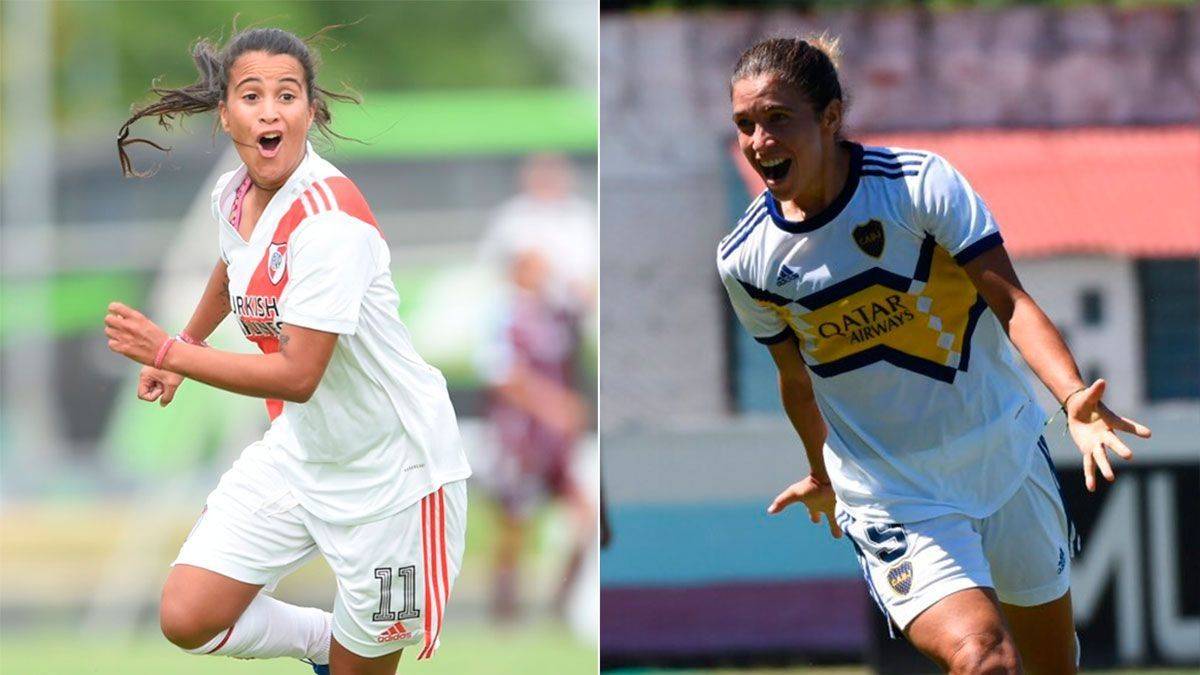 River y Boca definen el primer título femenino profesional.
