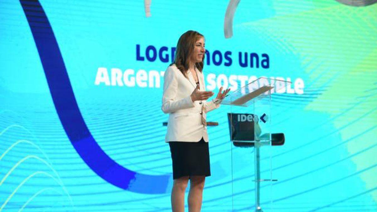 Paula ltavilla, presidenta del Coloquio de Idea.
