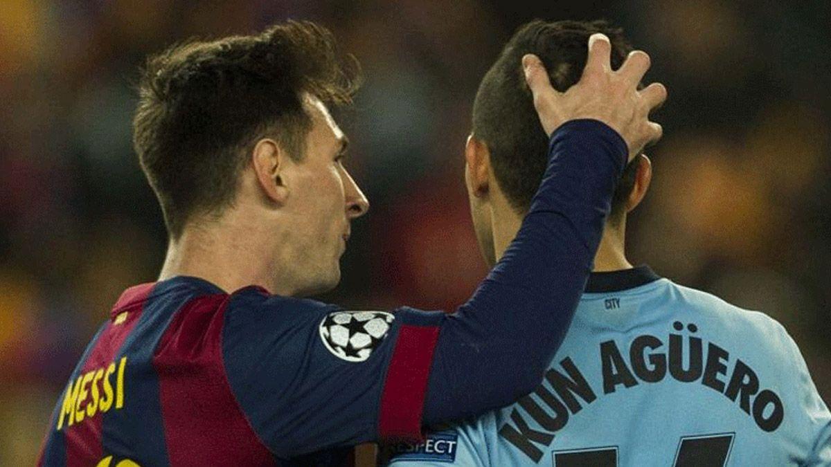 El Barcelona empezó la operación final por el Kun Agüero