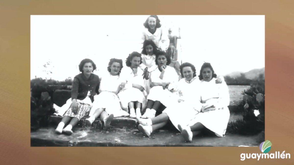 Pioneras. La familia Argúmedo fue una de las primeras en asentarse en la zona de La Primavera y Kilómetro 11. Allí las hermanas Virginia y Agustina luego volcaron por años su impronta educativa.