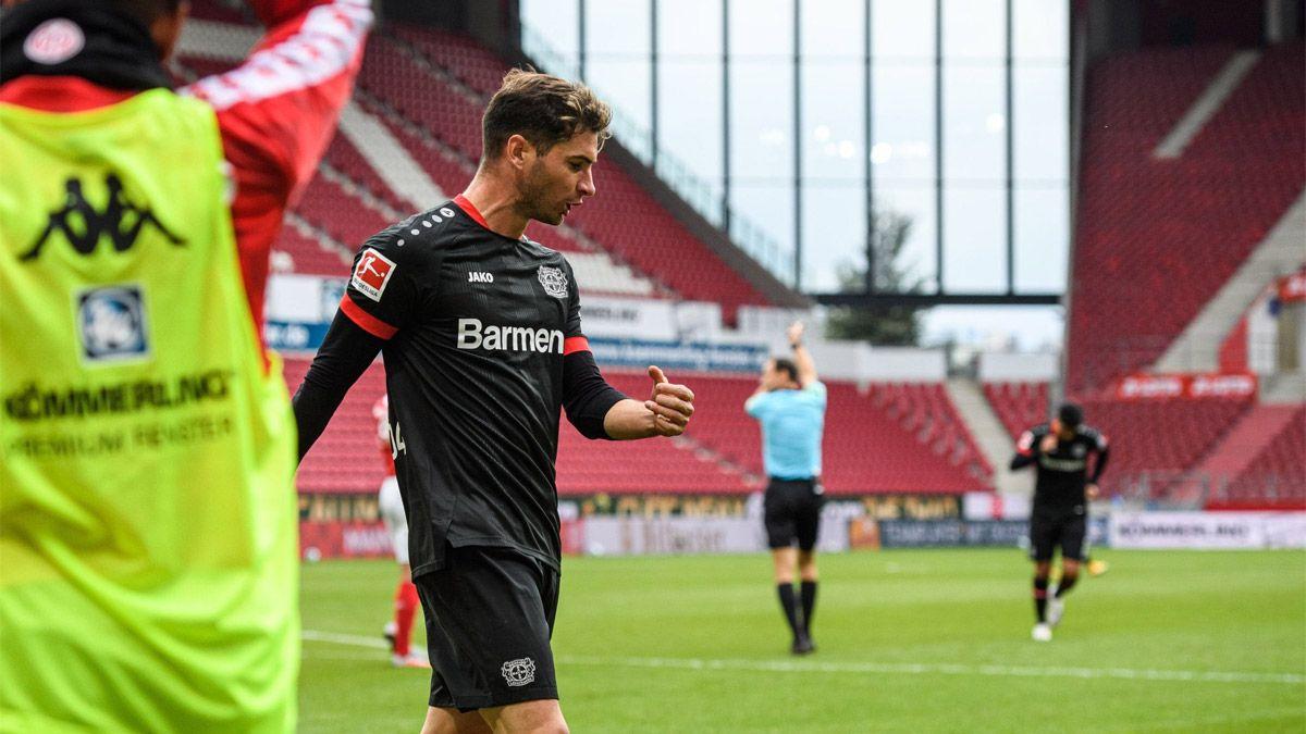 Lucas Alario, el héroe salvador del Bayer Leverkusen